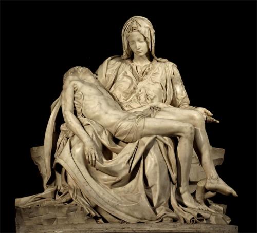 Pieta, le Poiré sur Vie, Michel-Ange