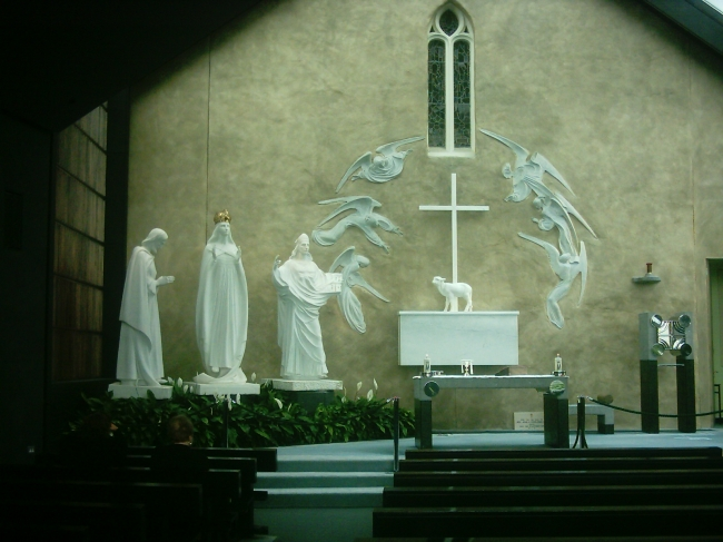 our lady of knock shrine, saint kevin of gloucester