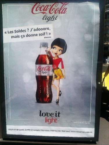 Coca Cola, publicité, inique