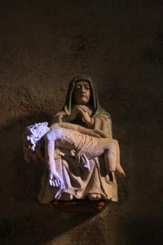 Pieta, le Poiré sur Vie, Michel-Ange, ALine de La Roche Saint-André