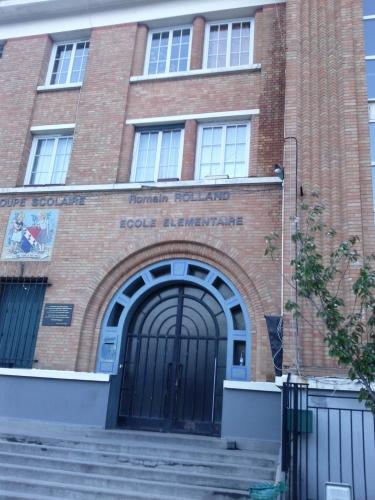 école Romain Rolland, Les Lilas, Vincent Petit, Vincent Sterne