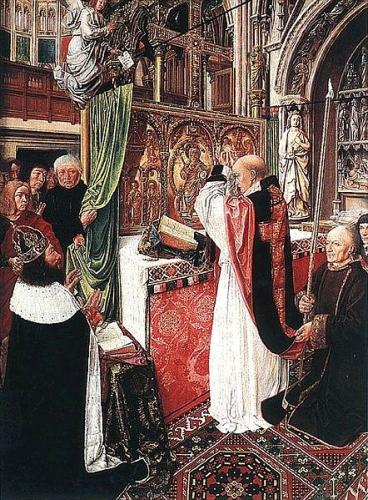 Maître de Saint-Giles, Saint-Denis, Charles Martel, abbé Suger, Simon chèvre d'or, abbaye de Saint-Victor