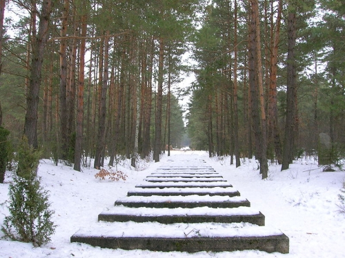 treblinka, les rails.JPG