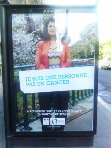publicité, cancer