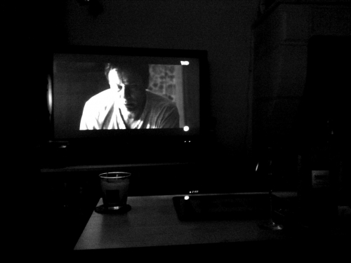 Télévision, soir, rêve blogal, Road Blog